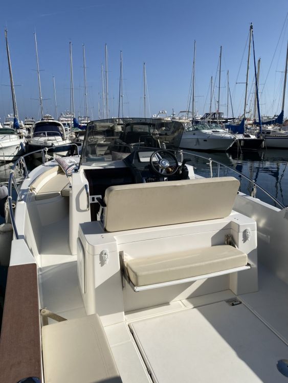 Ocqueteau Abaco 800 Open CC between personal and professional Beaulieu-sur-Mer