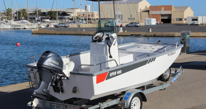 Hire Motorboat with or without skipper Outremer Marseillan