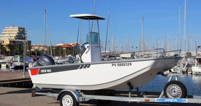 Motorboat for rent Marseillan at the best price