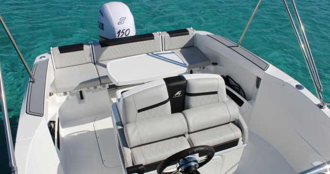 Hire Motorboat with or without skipper Karnic Ibiza Island