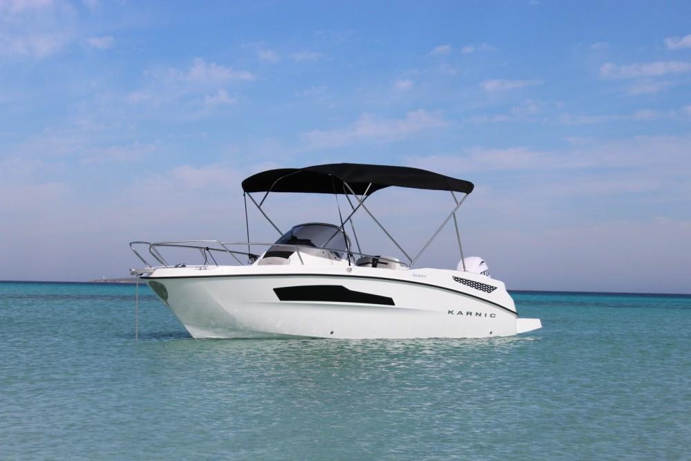 Boat rental Eivissa cheap 601SL