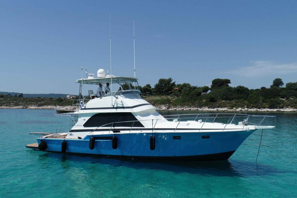Boat rental Ormos Panagias cheap 46.6 convertible flybridge