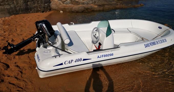 Rental Motorboat in Grosseto-Prugna - Rigiflex 400