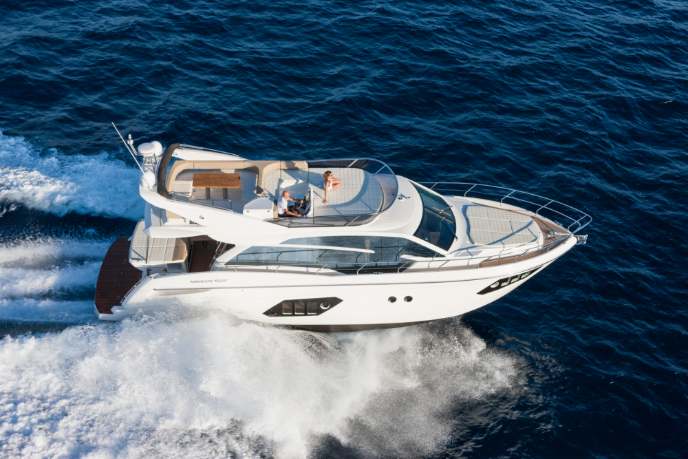 Boat rental Palma cheap Absolute 52 Fly