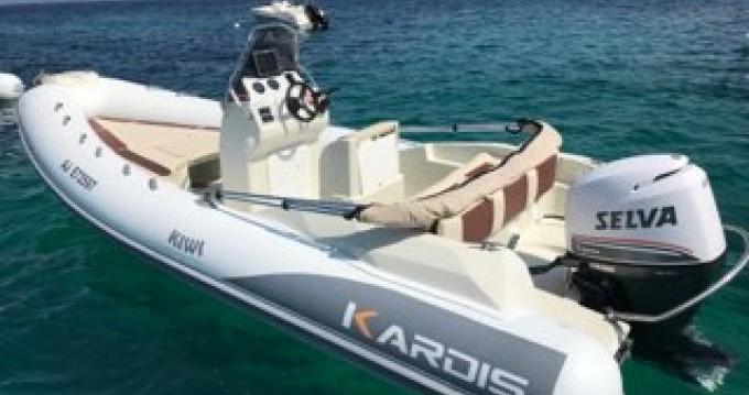 Boat rental Grosseto-Prugna cheap Kiwi 620