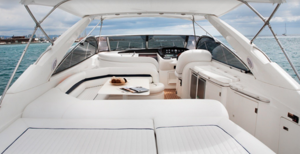 Sunseeker Camargue 52 between personal and professional Barcelona