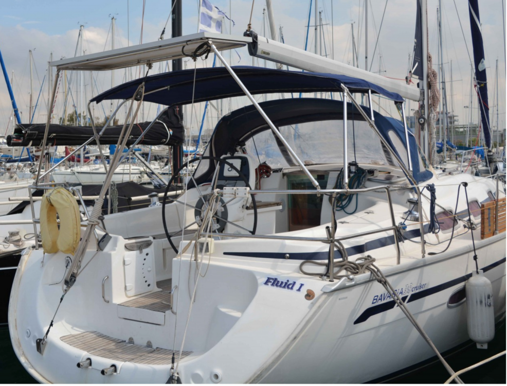 Boat rental Athens cheap Bavaria 39 Cruiser