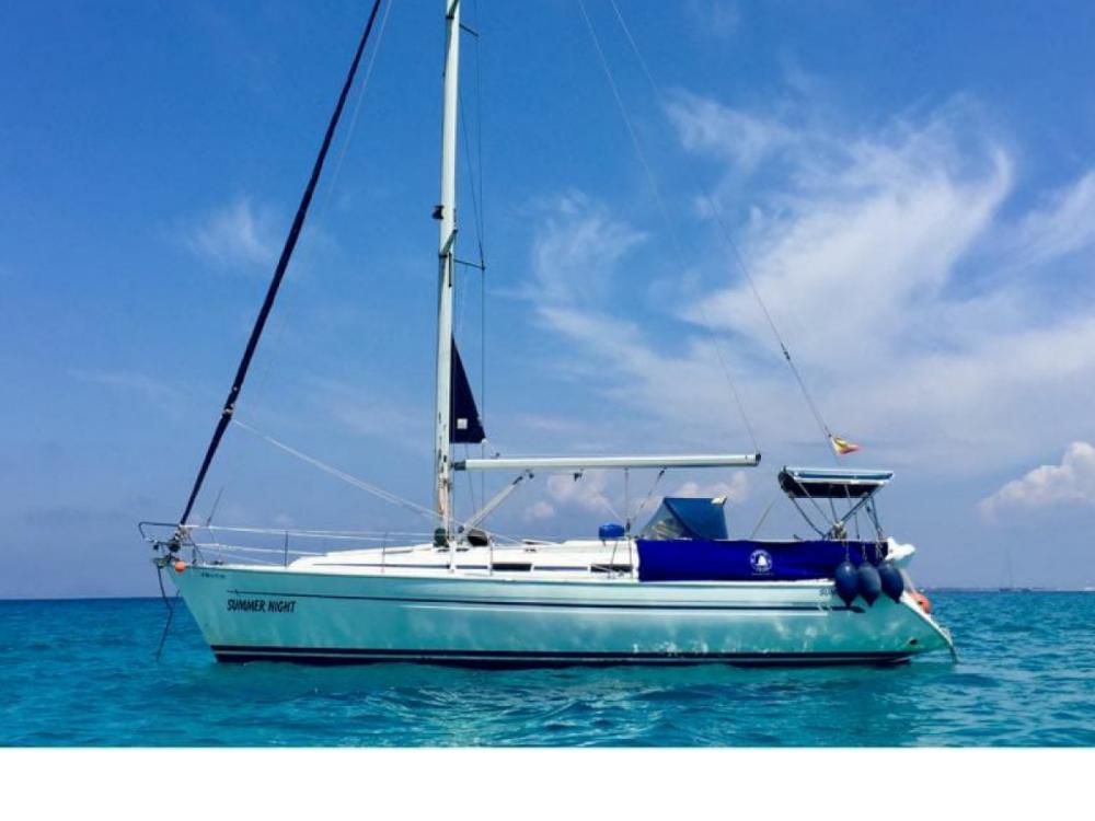 Boat rental Ibiza cheap Bavaria 40