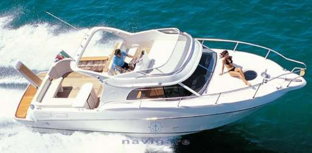 Motor boat for rent Catania at the best price