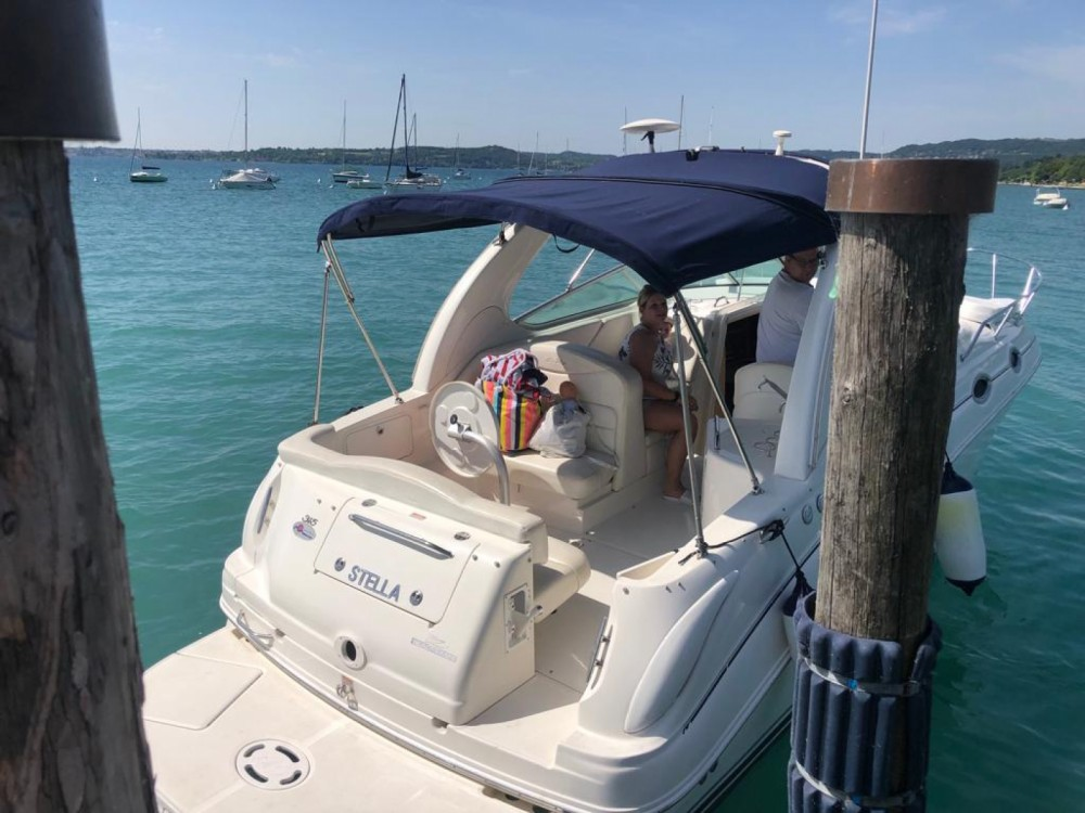 Rental Motor boat in Moniga del Garda - Sea Ray Sea Ray 315 Sundancer