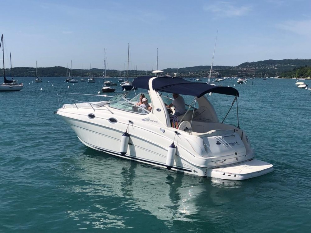 Hire Motor boat with or without skipper Sea Ray Moniga del Garda
