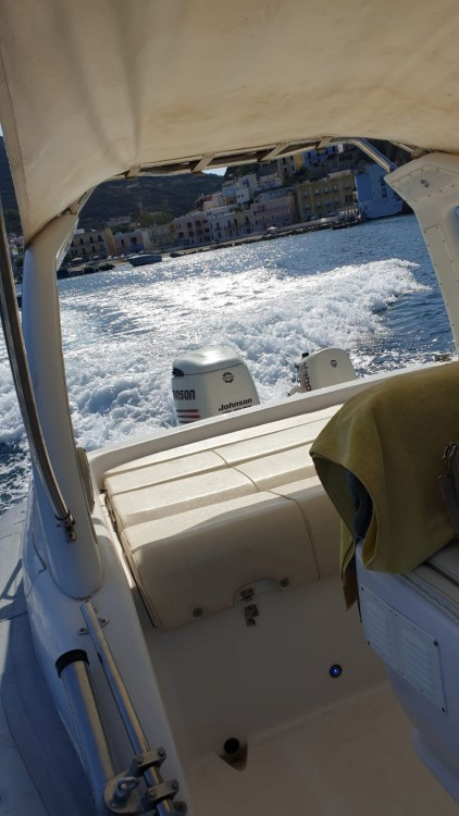 Hire RIB with or without skipper Master Gommoni Terracina
