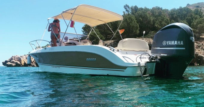 Rental Motorboat in l'Estartit - Sessa Marine Key Largo 26
