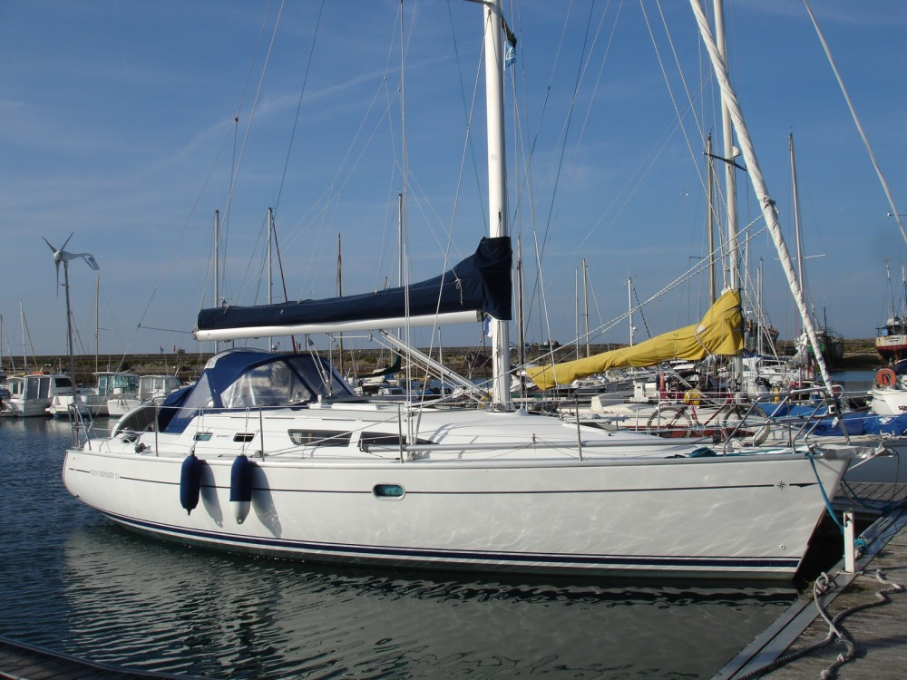 Boat rental Brest cheap Sun Odyssey 37