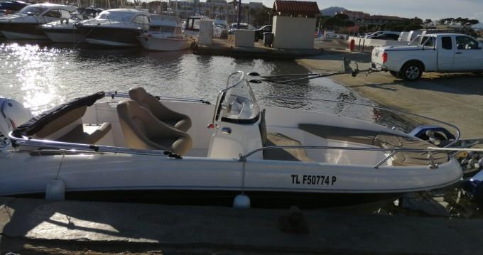 Rental Motorboat in Hyères - Titanium Titanium 560 open