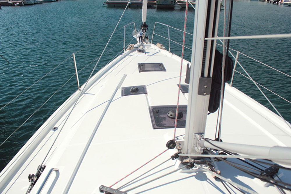 Boat rental Palma cheap Oceanis 41.1