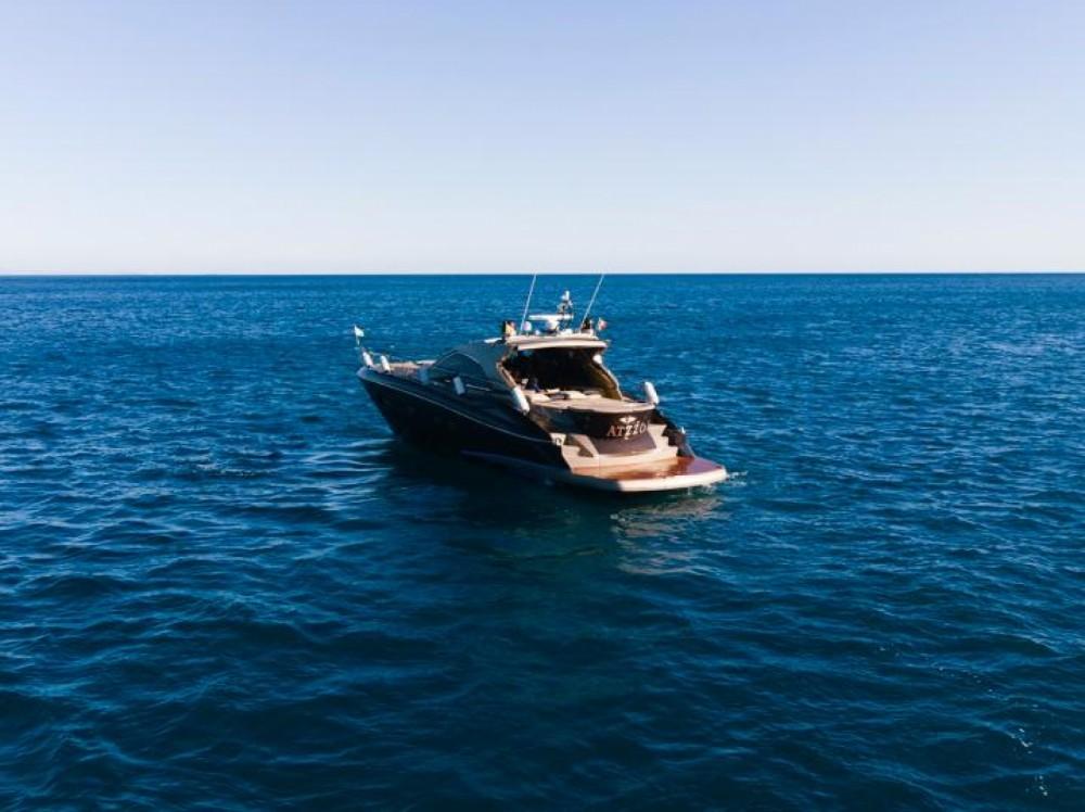 Sunseeker Predator 55 between personal and professional Balearic Islands