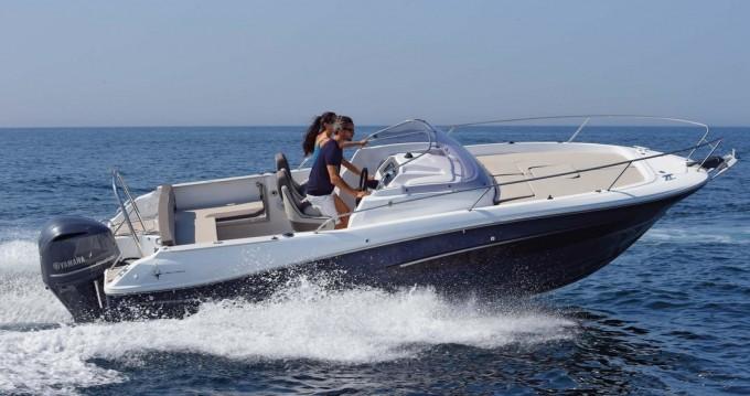Rental Motorboat in Mandelieu-la-Napoule - Jeanneau Cap Camarat 7.5 CC Serie 2