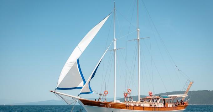 Rental Sailboat in Split -  Gulet Dona