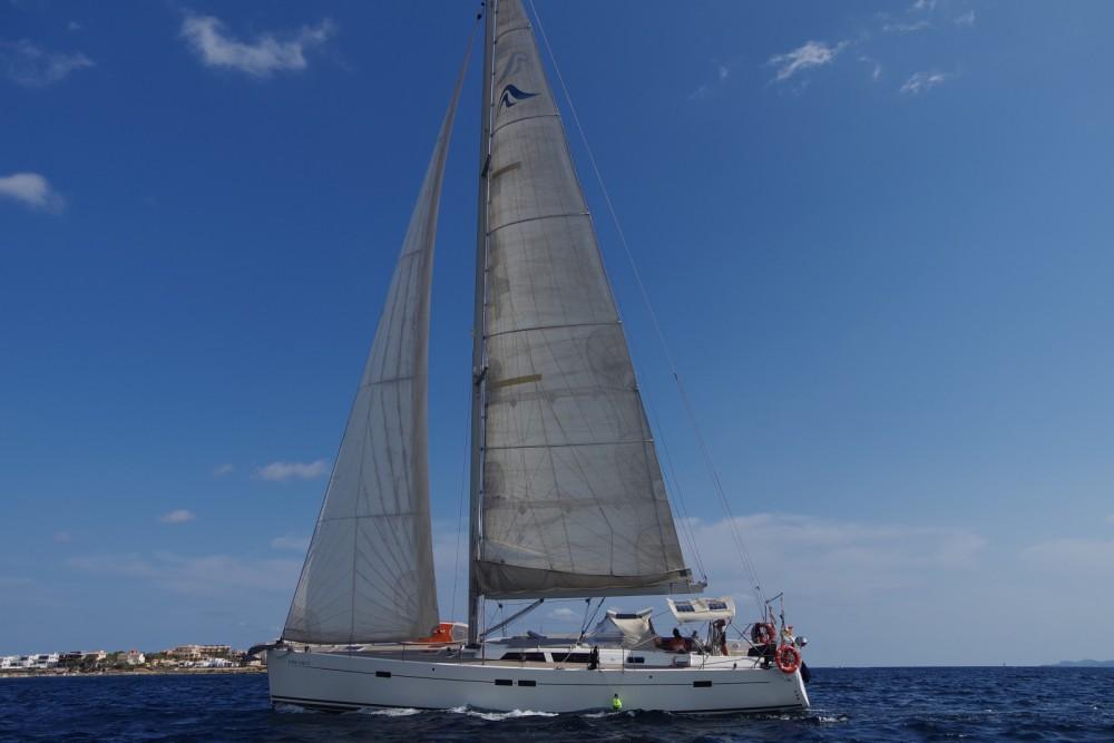 Hanse Hanse 540 E between personal and professional Palma