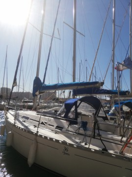 Boat rental Dufour Dufour 36 Classic in Toulon on Samboat