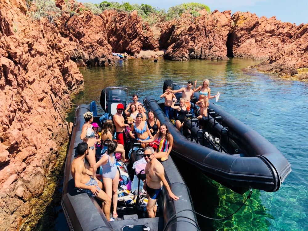 Boat rental Cannes cheap Fast 900