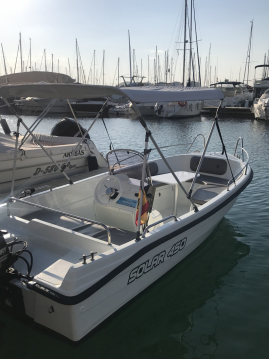 Hire Motorboat with or without skipper Solar Torrevieja
