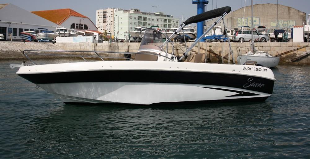 Boat rental Setúbal cheap 580 open