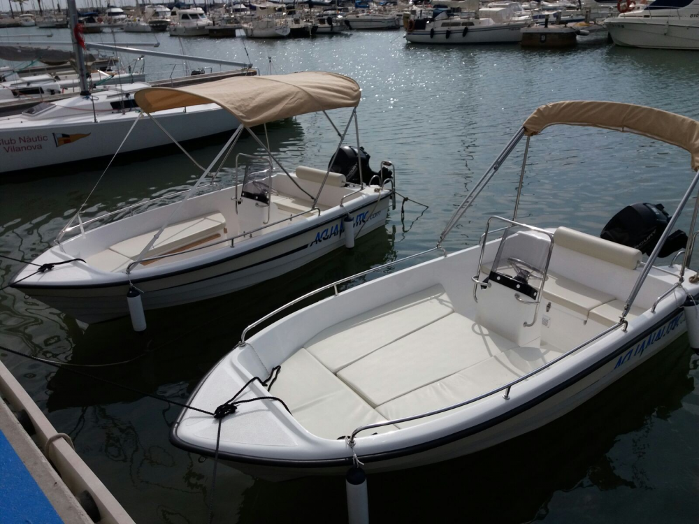 Hire Motor boat with or without skipper Marion  Torrevieja