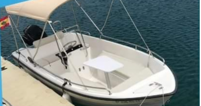 Rental Motorboat Marion  with a permit