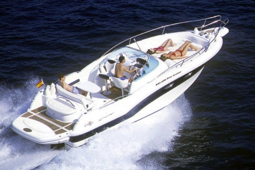 Hire Motor boat with or without skipper Rio Mahón