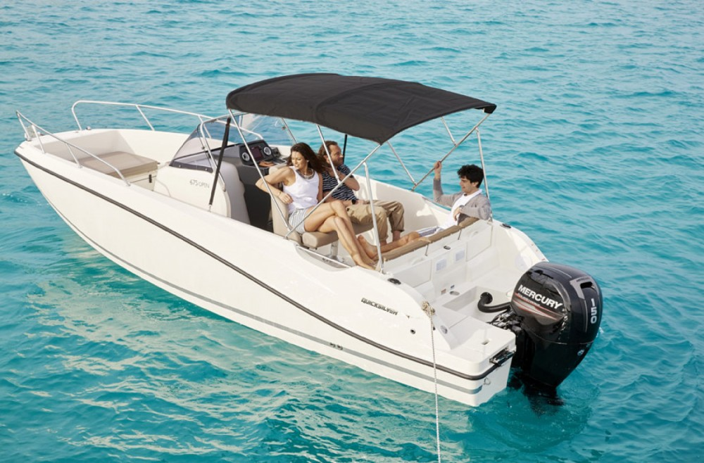 Hire Motor boat with or without skipper Quicksilver Maó