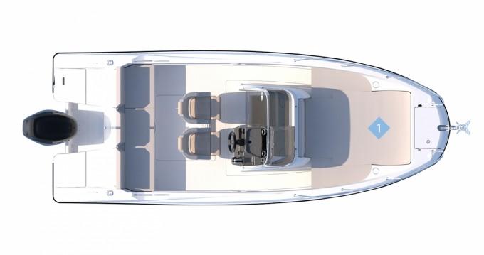 Boat rental Mahón cheap Quicksilver 675 Activ Open