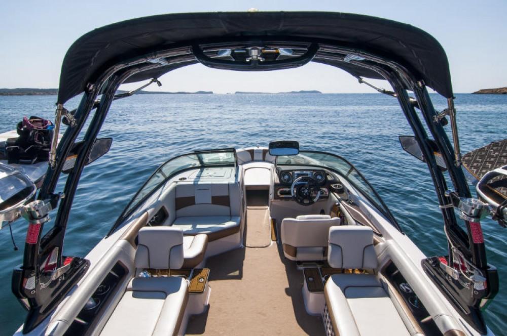 Rent a Nautique Correct Craft 230 Ibiza