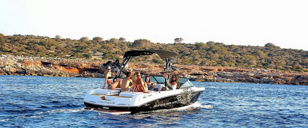 Nautique Correct Craft 230 between personal and professional Ibiza
