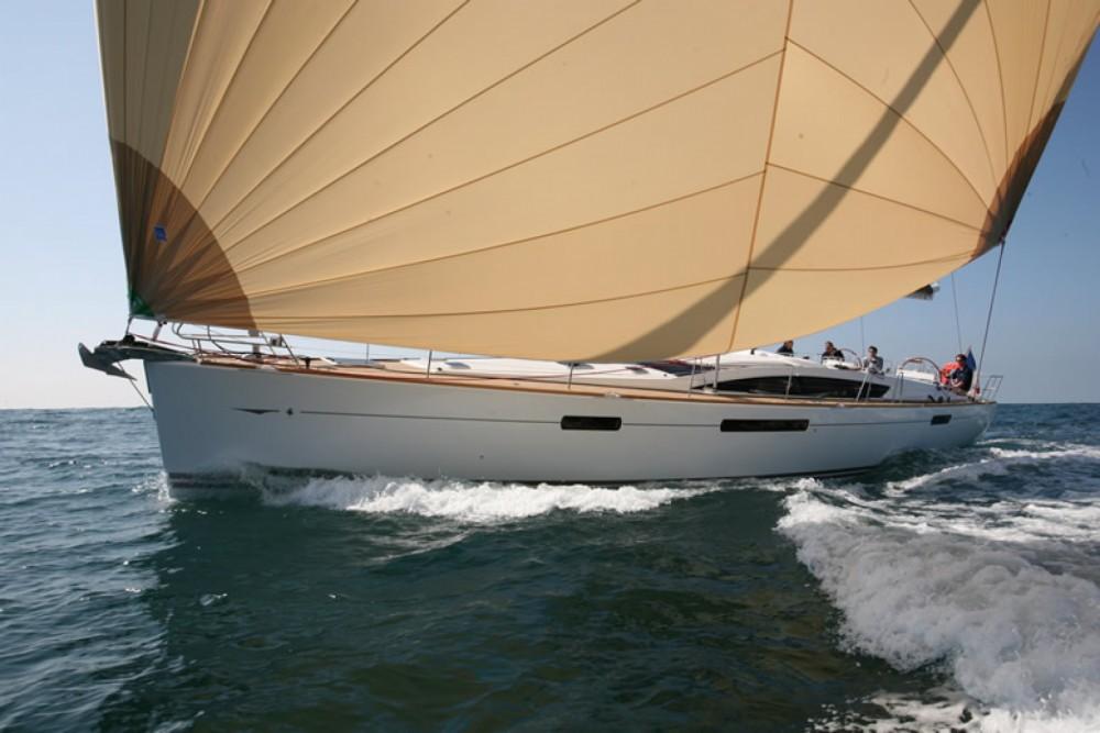 Boat rental Naples cheap Jeanneau 57