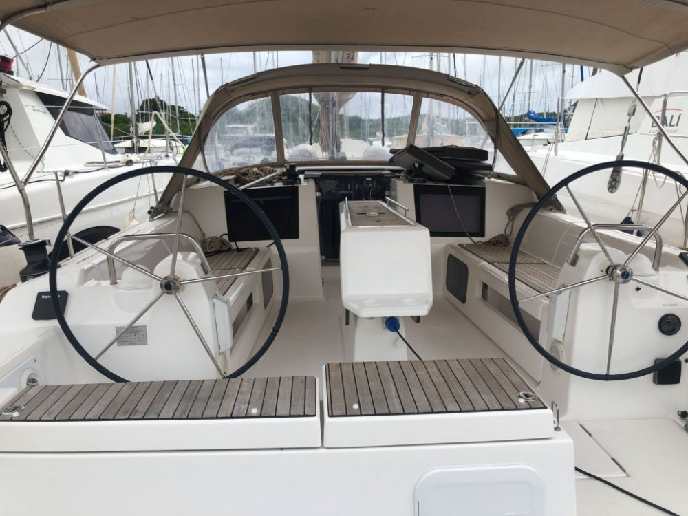 Boat rental Martinique cheap Dufour 412