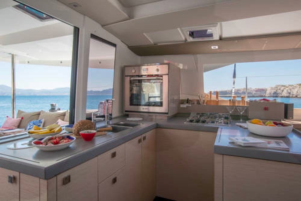 Fountaine Pajot Astrea 42 between personal and professional Newport