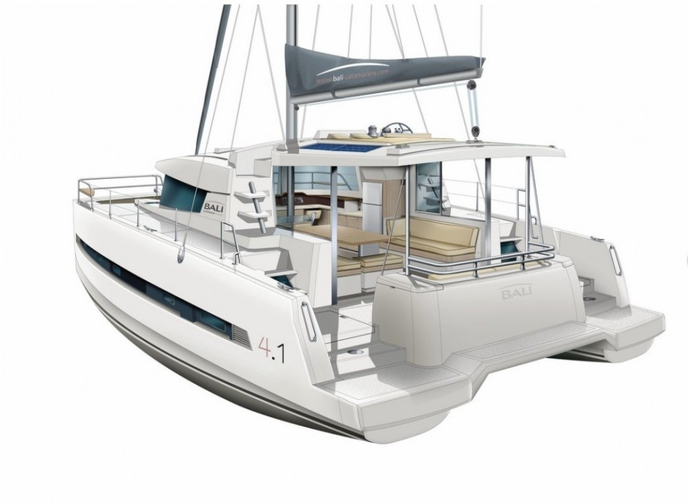 Hire Catamaran with or without skipper Bali Catamarans Baltimore