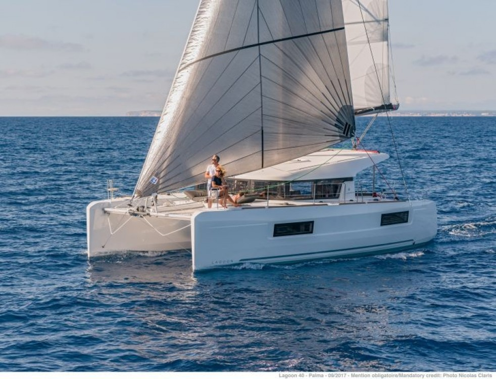 Hire Catamaran with or without skipper Lagoon Phuket