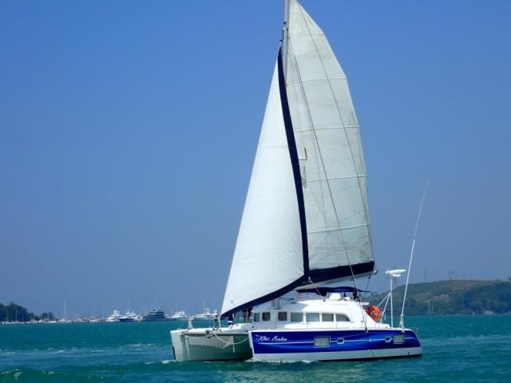 Hire Catamaran with or without skipper Lagoon Catamaran Phuket