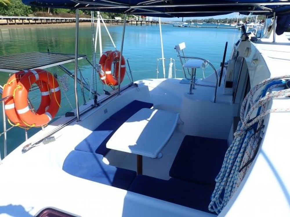 Rental Catamaran Lagoon Catamaran with a permit