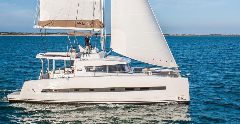 Rental Catamaran in Salerno - Bali Catamarans Bali 4.3