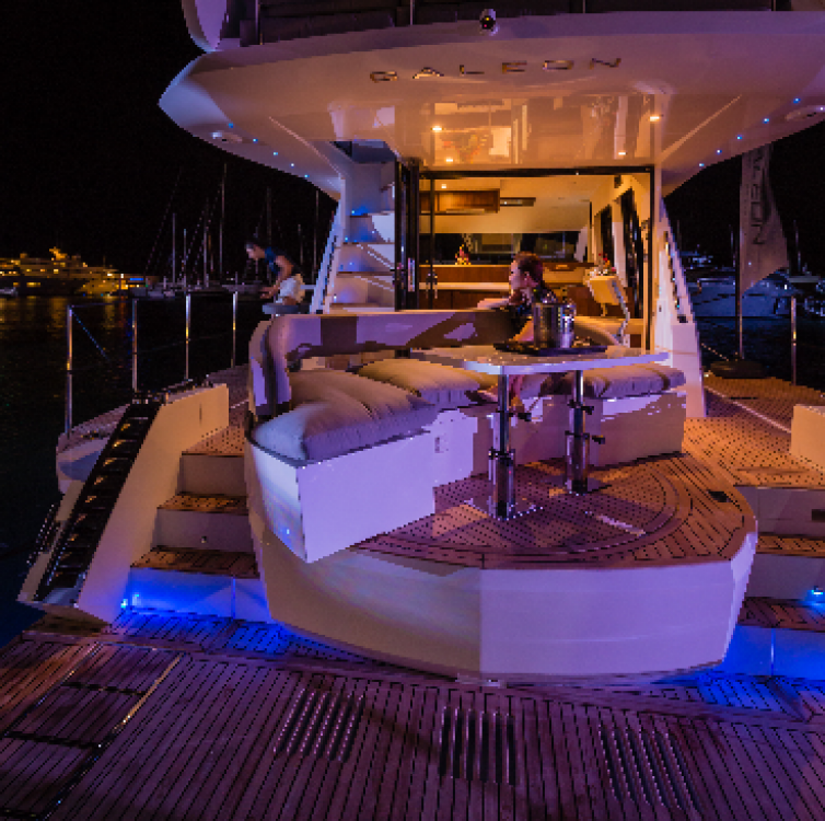 Rental yacht  - Galeon Galeon Flybridge 460 on SamBoat