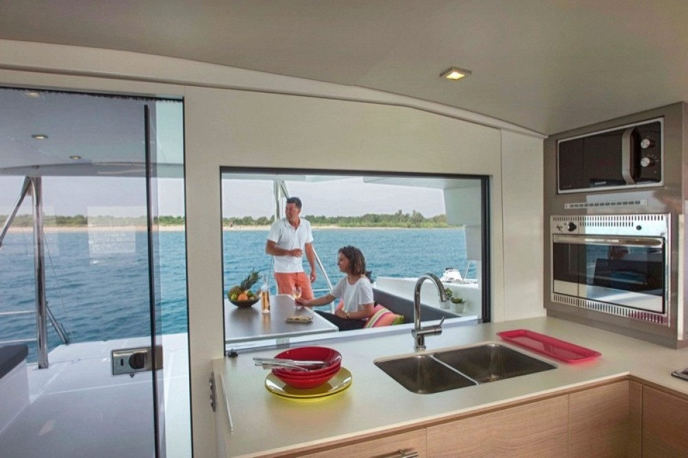 Hire Catamaran with or without skipper Catana Palermo