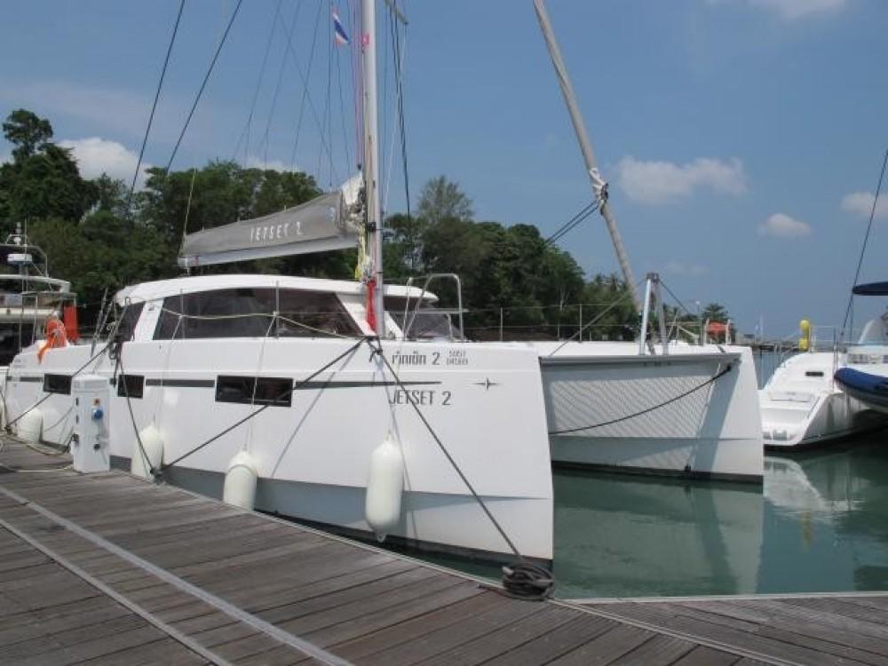 Hire Catamaran with or without skipper Nautitech Phuket