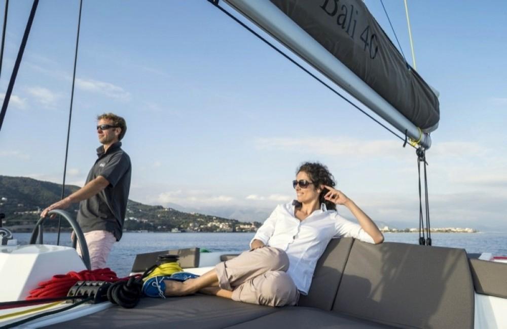 Bali Catamarans Bali 4.1 between personal and professional Capo d'Orlando