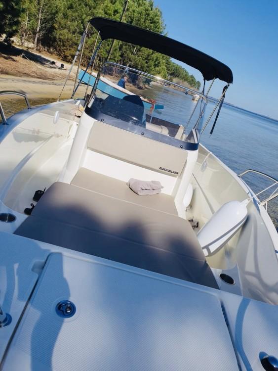 Rental Motor boat in Arcachon - Quicksilver Activ 675 Open Smart Pack