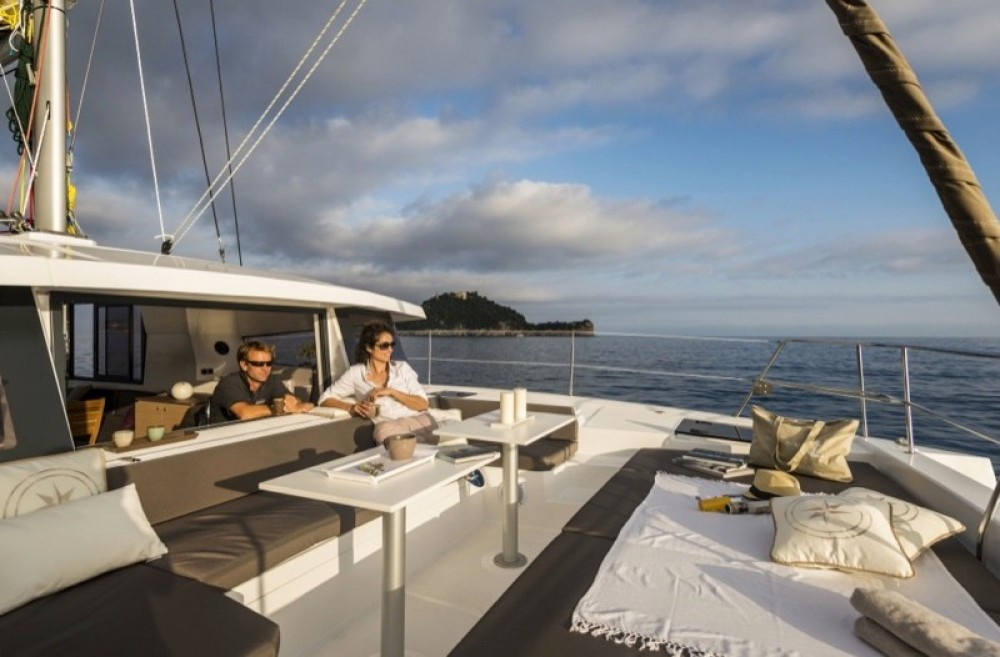 Rental Catamaran in Salerno - Bali Catamarans Bali 4.1