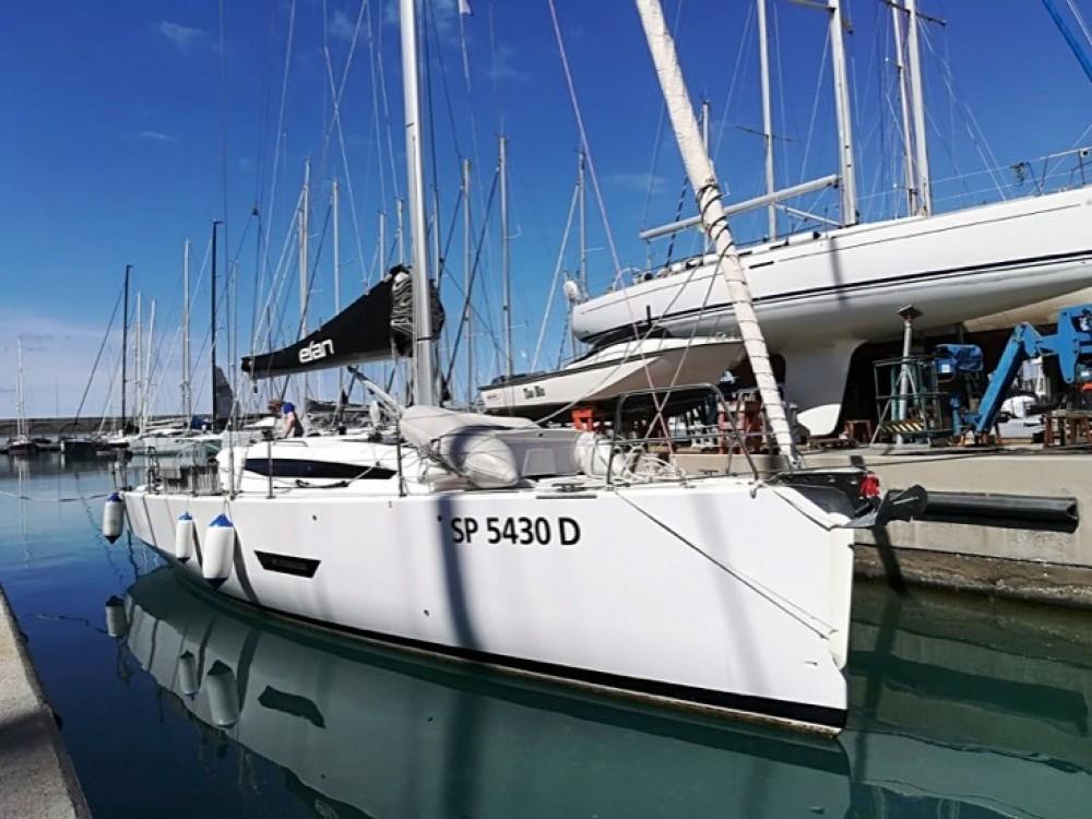 Rental Sailboat in Capo d'Orlando - Elan Elan E5